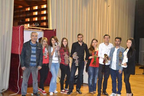 Muğla Üniversitesi Öğrencileri ile birlikte