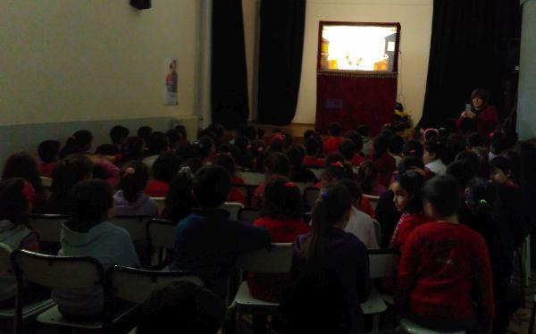 Bartın İnönü İlkokulu Karagöz Gösterimiz