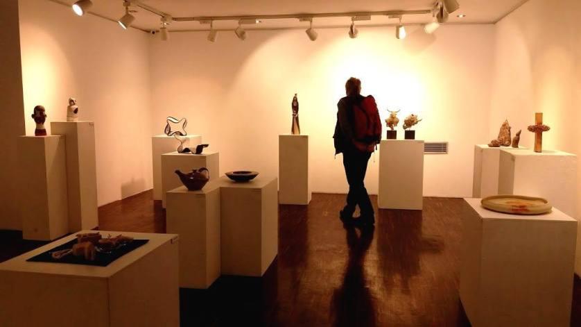 exhibition in the building Korean center