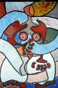 """""""Erotic"""". 160 x 120 cm. Acrilyc."""