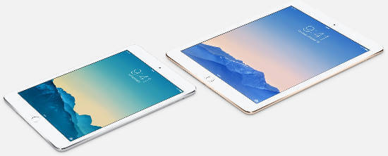 iPad Air2, mini 2