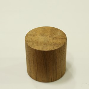 Handcrafted WOOD CYLINDER(Tube), Home, Garden, Pot, Decor, Jewellery Display Stand, TEAK, 70-110-mm or 3-4-inch Width
