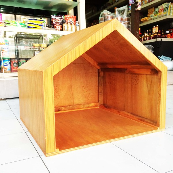 Handcrafted WOOD Cat & Dog House/Pet Shelter(Modern Style), Indoor Cabin, Comfort Kennel, Natural Wood Pet Cage, 100-600-mm, 4-24-inch Width