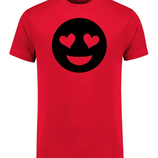 Handcrafted Emoji T-Shirt(Short Sleeve), Travelling, Working, Shopping, Party, Friend and Family Gift, Everyday Life