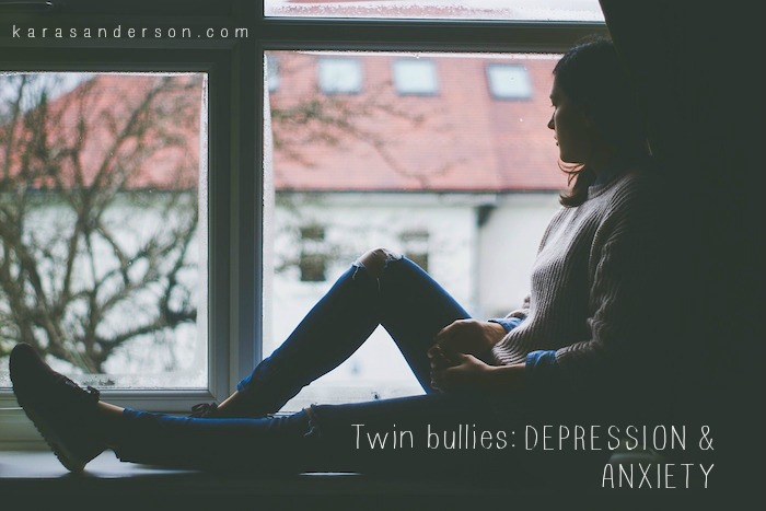 Twin bullies: Depression and Anxiety