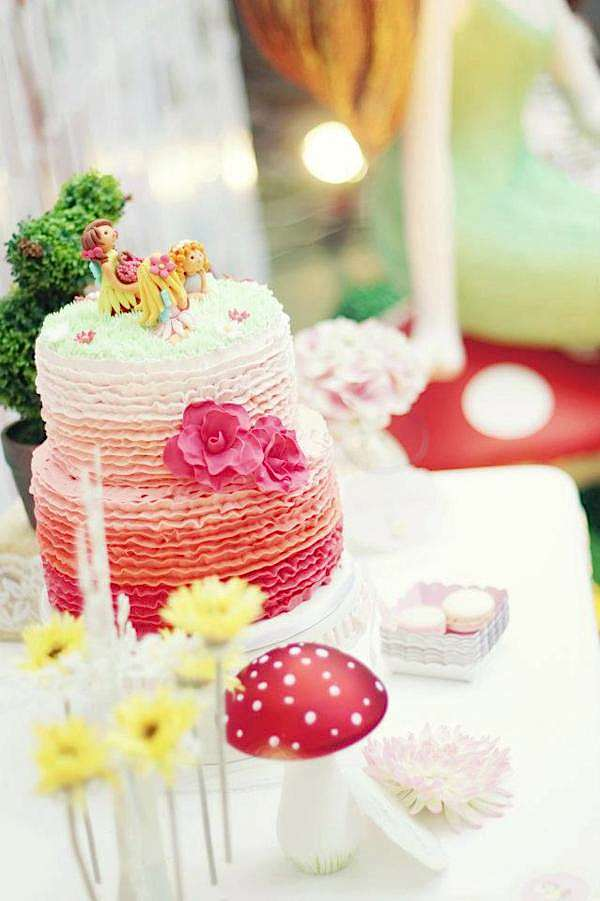 Kara's Party Ideas Enchanted Fairy Garden Girl Woodland Birthday