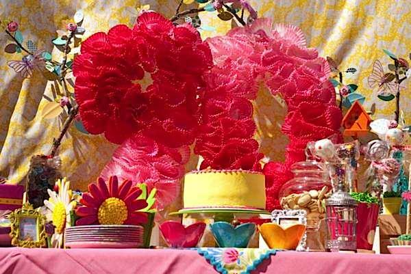 Kara's Party Ideas 90th Birthday Garden Flower Outdoor Adult Party