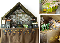 Kara's Party Ideas Army Camouflage Themed Birthday Party ...