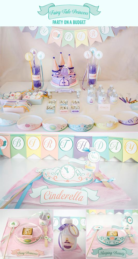 Karas Party Ideas Fairytale Disney Princess Girl Birthday