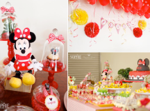 Kara's Party Ideas Minnie Mouse Girl 2nd Birthday Party ...