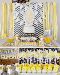 Kara's Party Ideas You are my Sunshine Summer Gender ...
