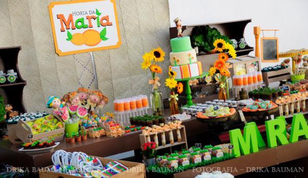 Kara's Party Ideas Fruit Garden Themed Girl Birthday Party