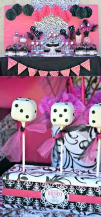 Kara's Party Ideas Bunco girls night teen girl birthday ...