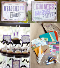 "Kara's Party Ideas ""Smash"" Scrapbooking Teen Tween Girl ..."