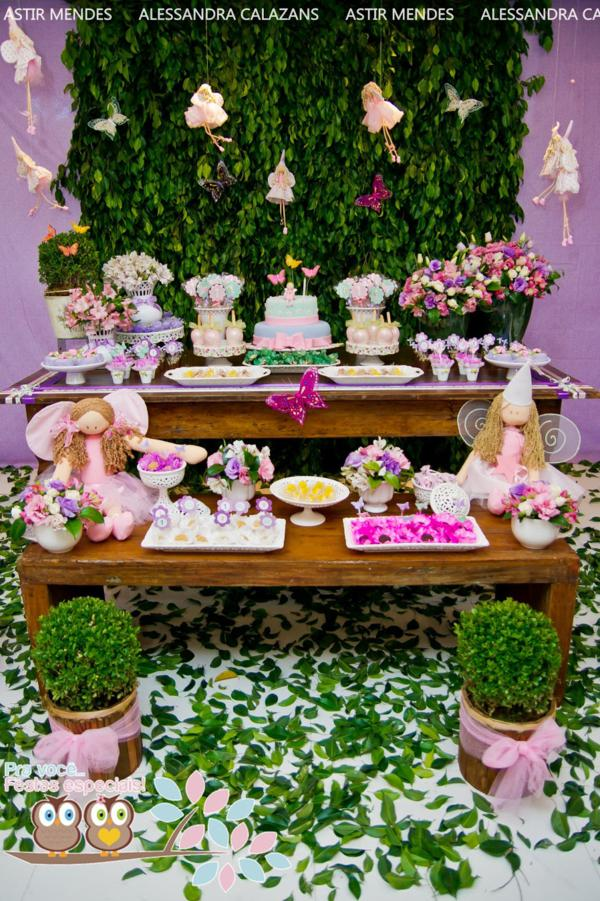 Kara's Party Ideas Fairy Garden Themed 1st Birthday Party Kara's