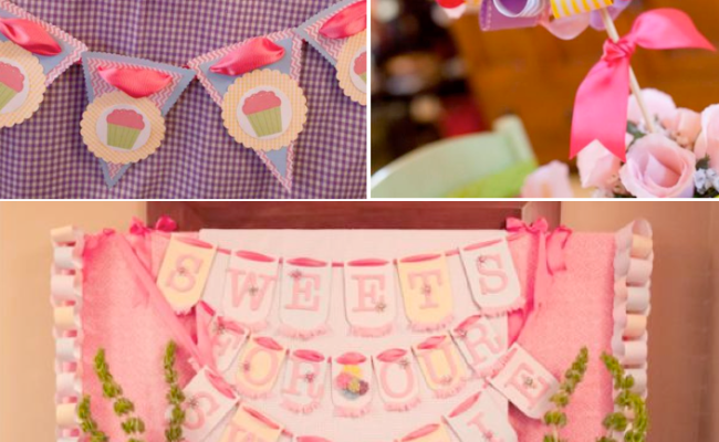 Kara S Party Ideas Girly Gingham And Pink Themed Birthday