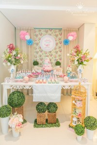 Kara's Party Ideas Little Birds Pink and Blue Party ...