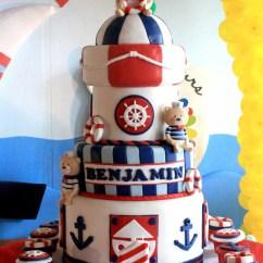 Baby Blue Wedding Chair Covers Velvet Armchair Australia Kara's Party Ideas Sailor Bear Birthday Planning Supplies Idea Cake Decor