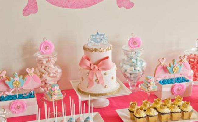 Kara S Party Ideas Disney Cinderella Girl Princess Party