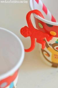 Kara's Party Ideas Sock Monkey Birthday Party - Kara's ...