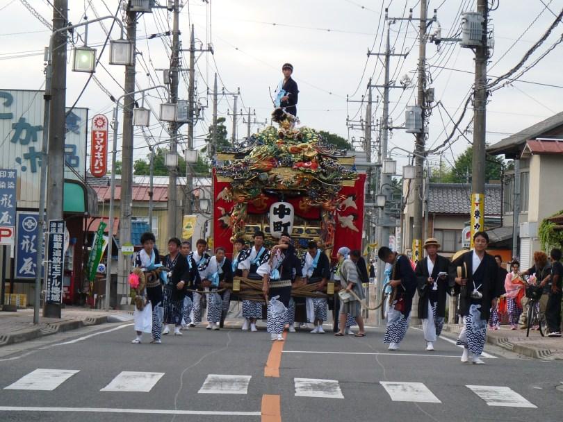 2011年 山あげ祭 仲町 屋台巡航