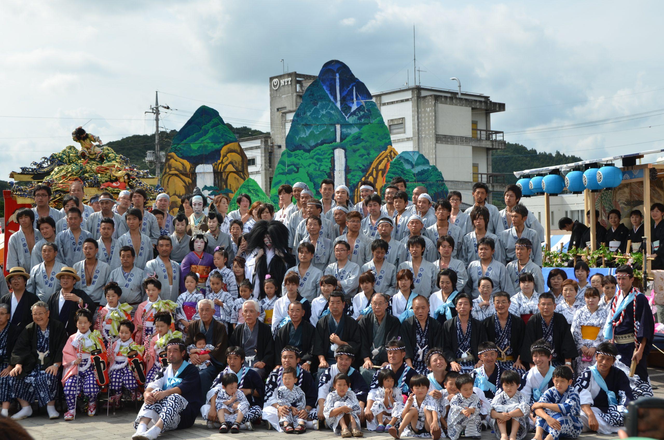 2011年 山あげ祭 仲町 集合写真