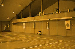 Badmintonhalle