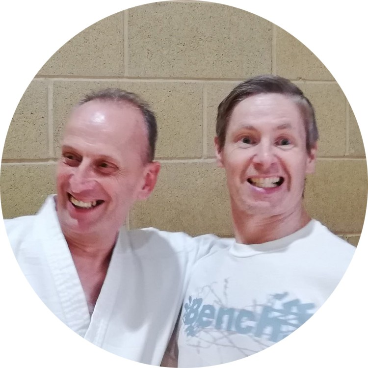 Instructors, Steve and Hywel