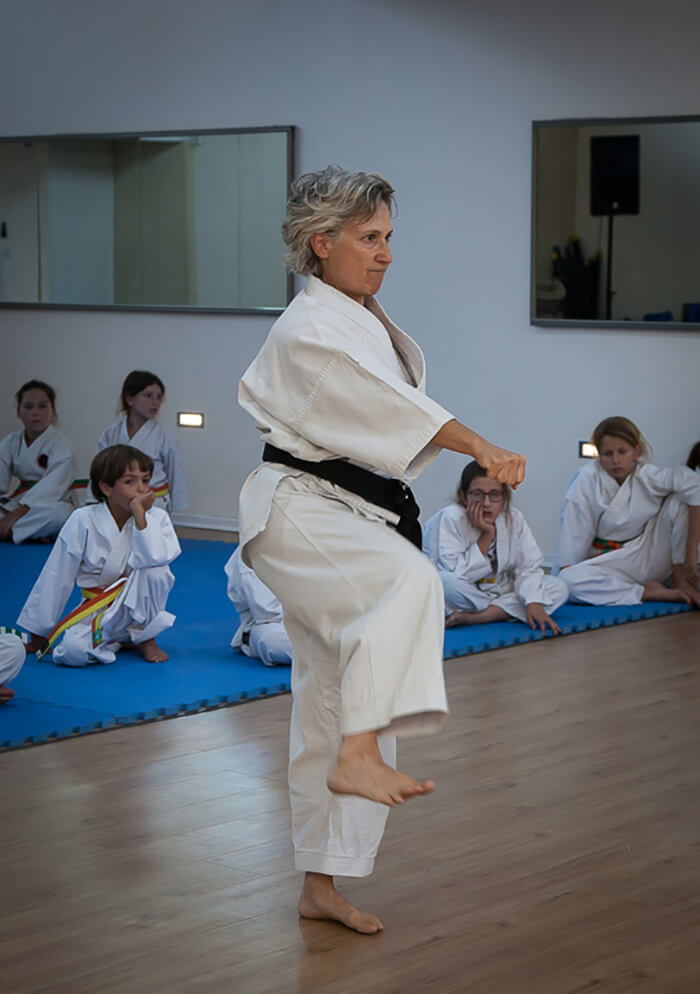 SaraRivka Yekutiel Dan 5 From 1975  present have taught GojuRyu Karate and SelfDefense