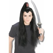 samurai warrior wig - japanese
