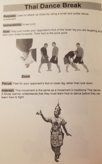 """""""Thai Dance Break"""" found in Master Lee's book, Muay: Submissions, Breaks and Joint Locks of Muay Thai and Muay Boran"""