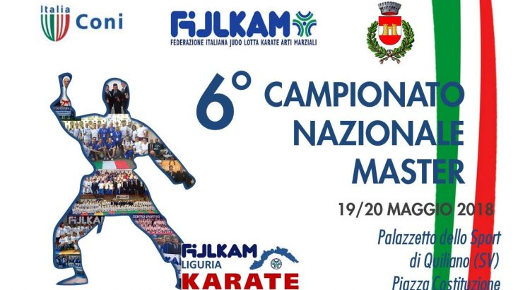 Campionato Nazionale Master Katà / Kumite 2018