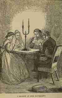 Bayan Havisham'ın evinde bir kart oyunut eli...