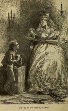 Pip, Bayan Havisham'ı bekler...