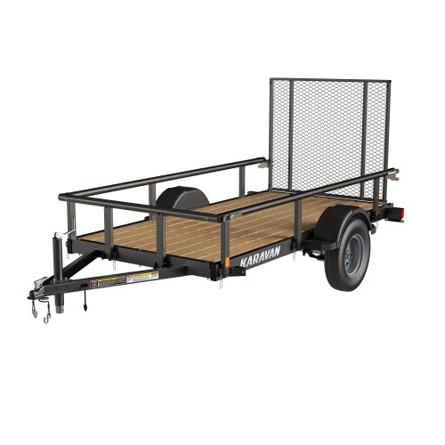small resolution of steel utility trailer