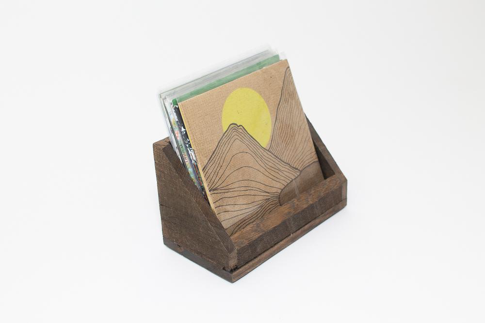 Custom Wood Vinyl Rack