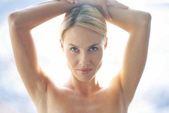 كيف ازيل الشعر تحت الجلد