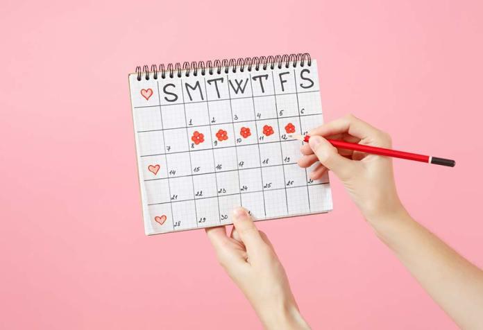 أسباب اضطراب الدورة الشهرية بعد الزواج