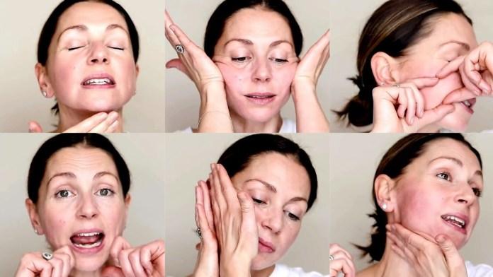 تمارين لشد الوجه ونفخ الخدود