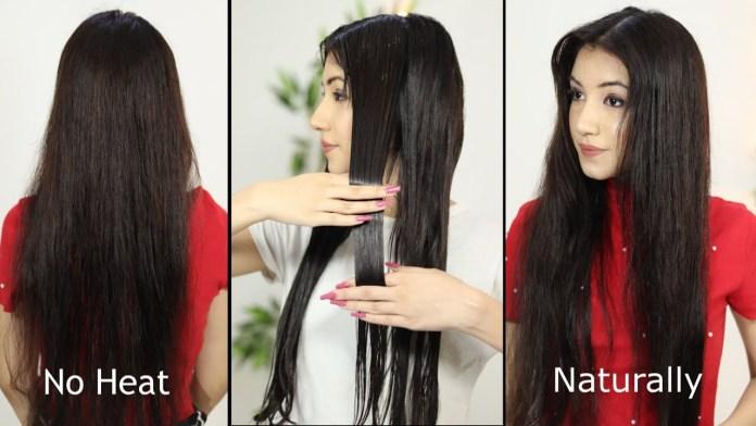 تسريحات لفرد الشعر بدون حرارة