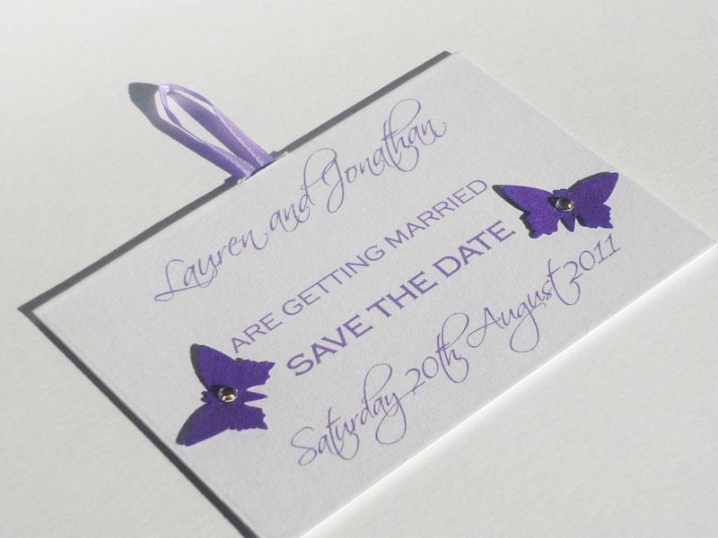 Save Date Cards Handmade