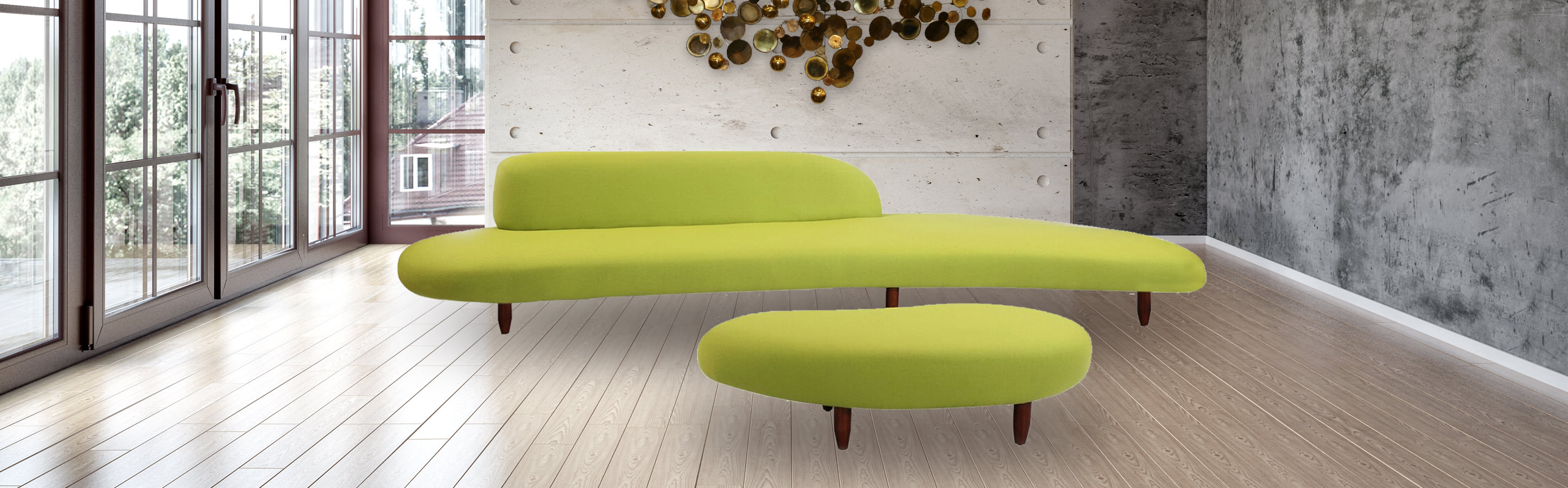 noguchi sofa reproduction brown design collections kidney bean kardiel