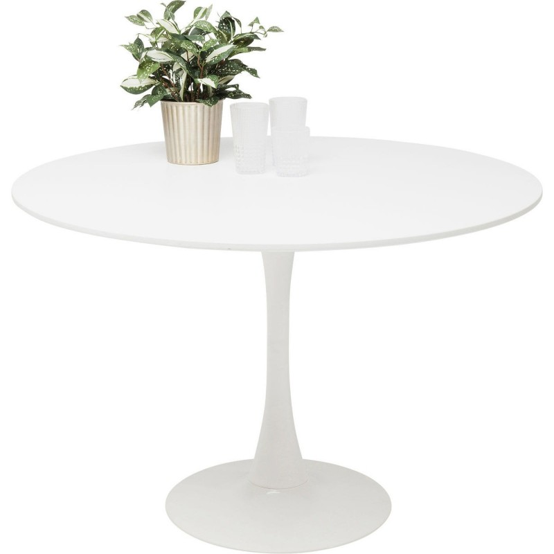 design white table 110cm with tulip