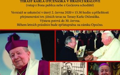 Venkovní výstava o životě Karla Otčenáška