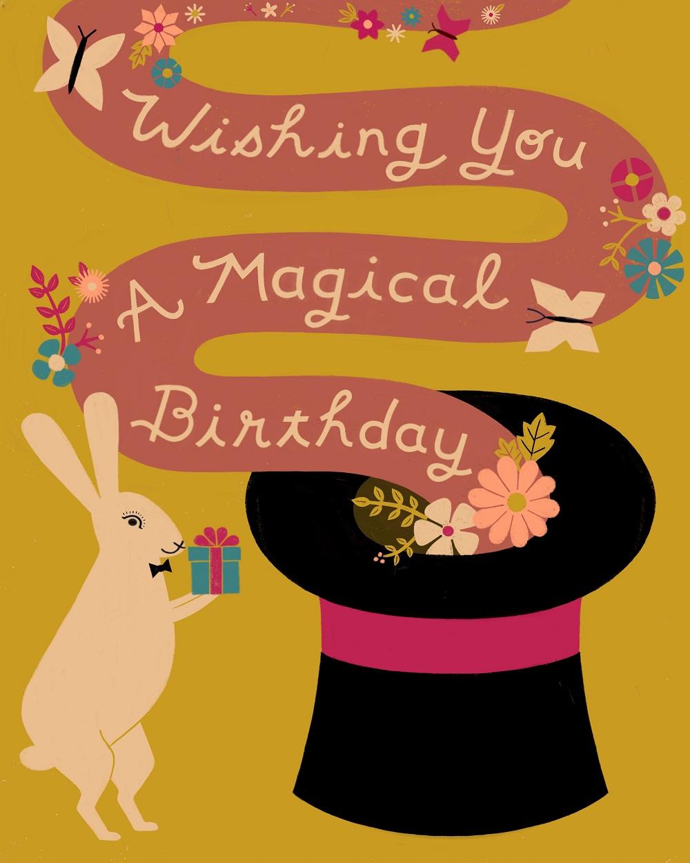 magical birthday great arrow