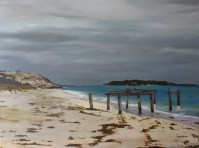 Autumn in Hamelin Bay - Acrylic - 76 x 102 cms