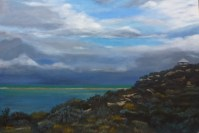 Storms Over Moore River - Acrylic - 51 x 76 cms