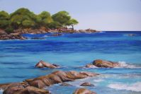 Summer Breeze - Bunker Bay - Acrylic - 51 x 76.5 cms