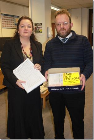 Councillor Karen Bruce and Councillor David Nagle