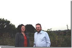 Cllr Karen Bruce and Cllr David Nagle